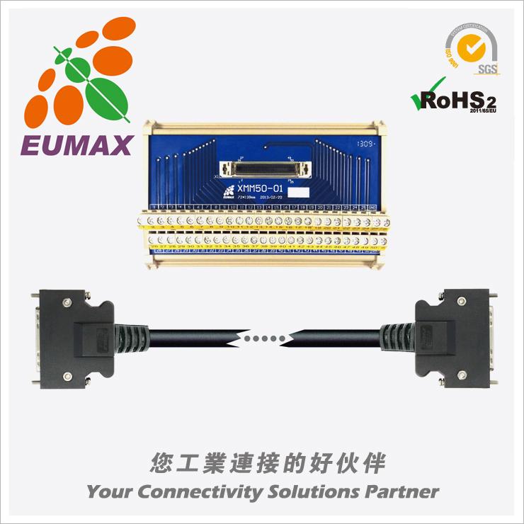 JUSP-TA50PG-2E 安川ΣV/Σ7伺服端子台 50P/2M 欧巨转接模组