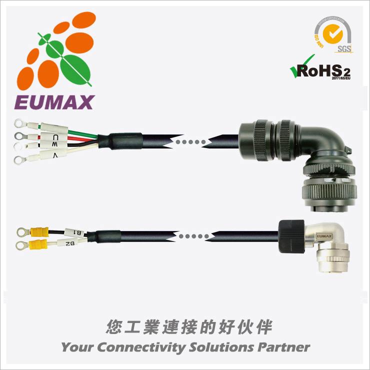 JZSP-UVA332-05-E 安川ΣV/Σ7伺服电源线 5M 欧巨伺服连接线