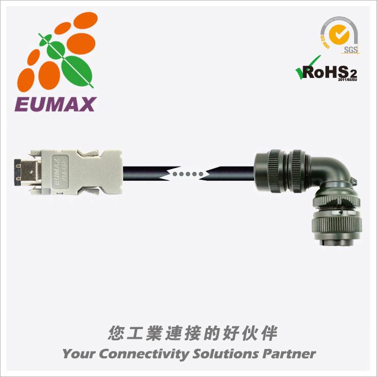 WSC-P06P10-C 富士ALPHA5 Smart伺服编码器线 10M 欧巨伺服连接线