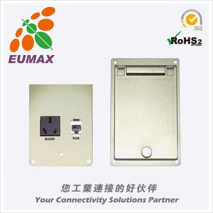 CM12-F2 CM12-F2通讯盒 RJ45+220V 欧巨通讯盒