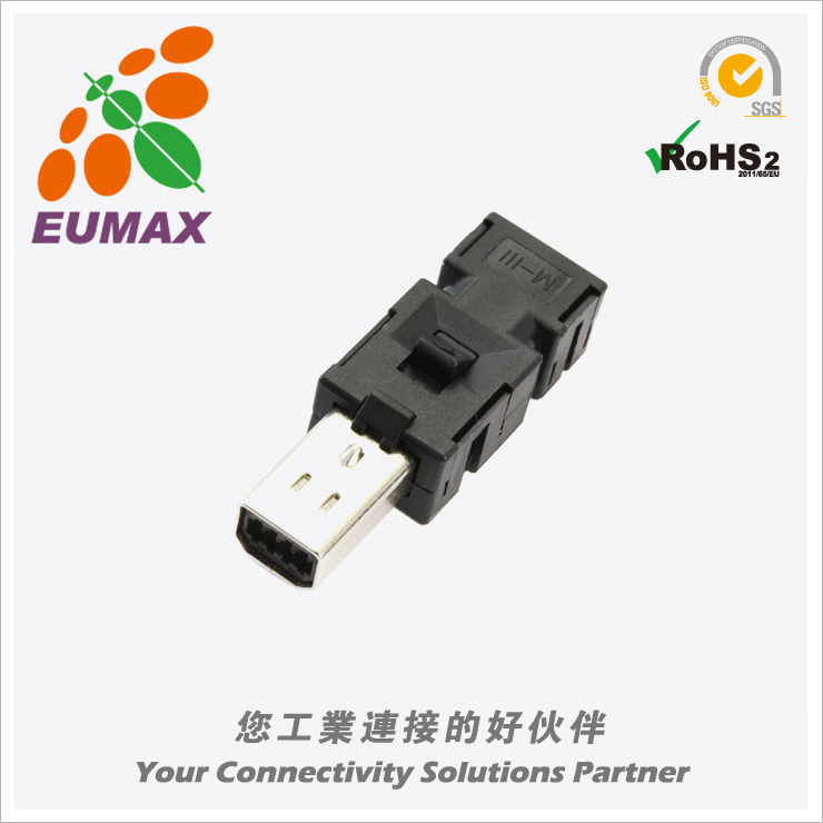 2040008-1 松下A5/A6连接器 8P 欧巨伺服连接器