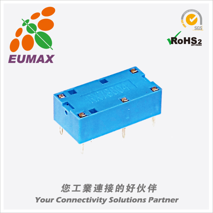 XM-FX78604 PCB继电器座 4P RE/G6B继电器用 欧巨继电器座 MOQ320Pcs