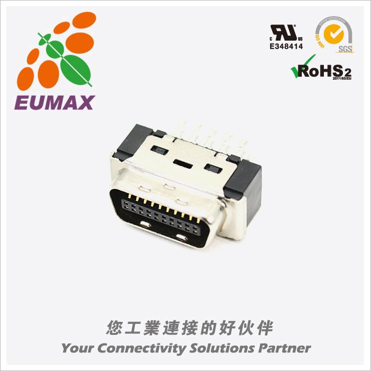 XDR-10120S 插芯 20P 欧巨MDR连接器