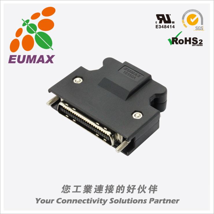 XDR-10350AS 插头配套 50P 螺丝式 欧巨MDR连接器
