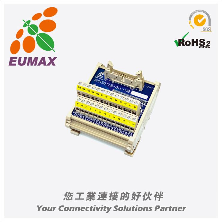XHM20T18-01L-MB 三菱PLC输入/输出转接模组 20P LED 欧巨转接模组