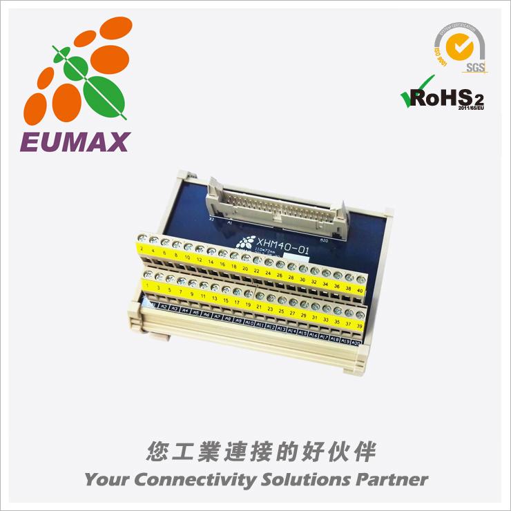 XHM26-01 MIL转接模组 26P LED 欧规端子台 欧巨IDC转接模组
