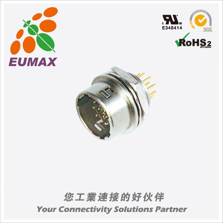XM10A-R12P-C HR10A-10R-12P公插座 12P 欧巨HR10A连接器