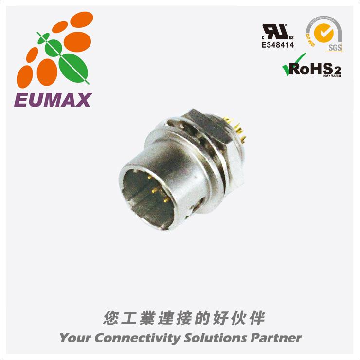 XM10A-R6PB-C HR10A-7R-6PB公插座 6P DIP 欧巨HR10A连接器