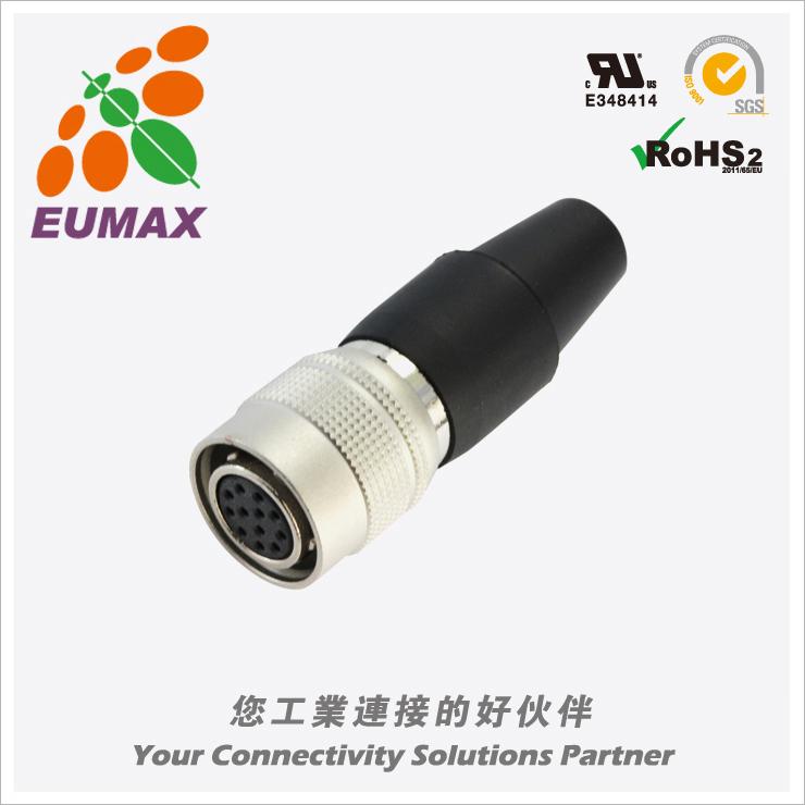 XM10A-S12S-C HR10A-10P-12S直型插头 12P 欧巨HR10A连接器