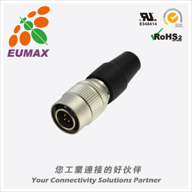 XM10A-S6P-C HR10A-7P-6P直型插头 6P 欧巨HR10A连接器