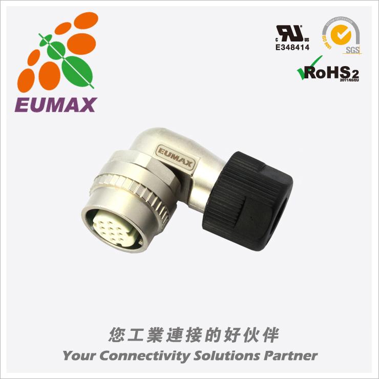 XM10J-A10S-C JN2FS10SL2弯型插头 10P 欧巨JN2连接器