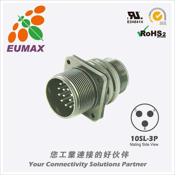 XMS3100A10SL-3P 板装插座 3P 欧巨5015军规连接器/航插
