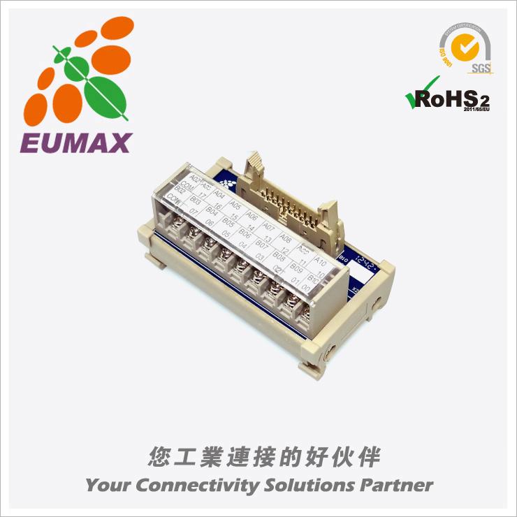 XSHM20T18-02-MB 三菱PLC输入/输出转接模组 20P 欧巨转接模组