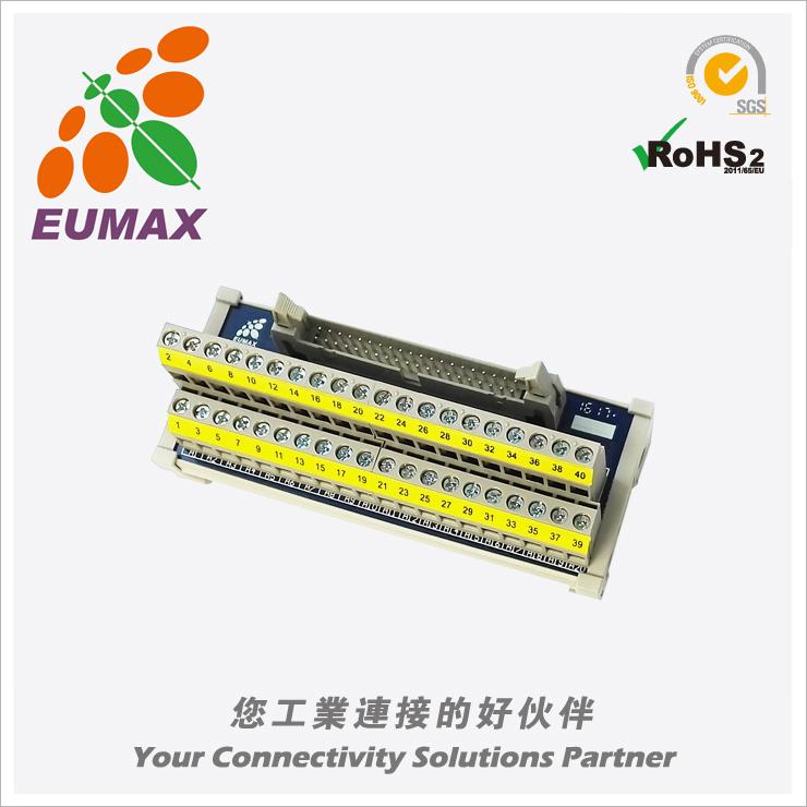 XSHM26-01 小型MIL转接模组 26P 日规端子台 欧巨IDC转接模组