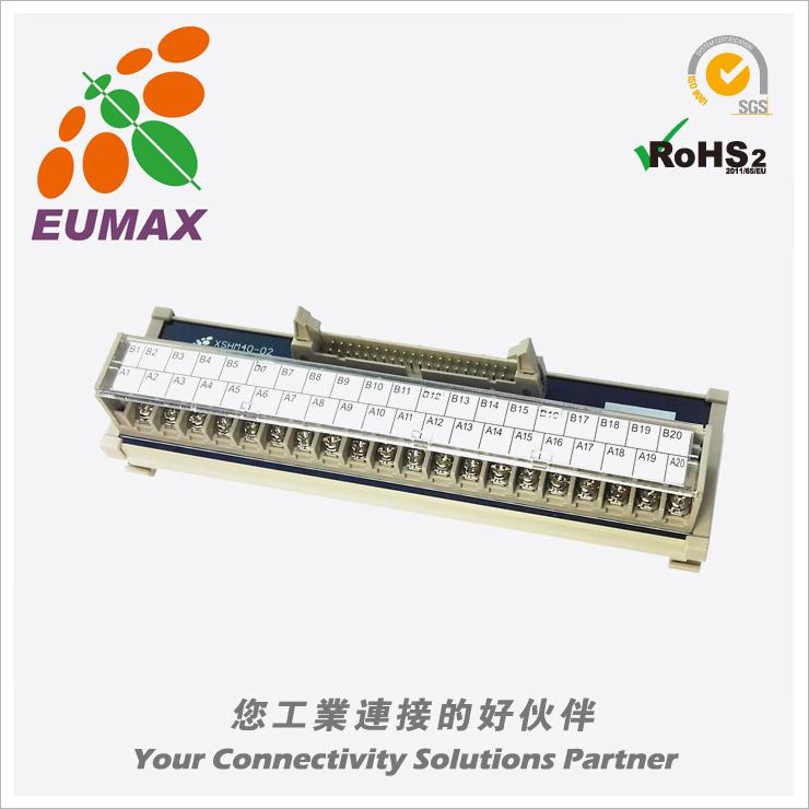 XSHM34-02 小型MIL转接模组 34P 日规端子台 欧巨IDC转接模组