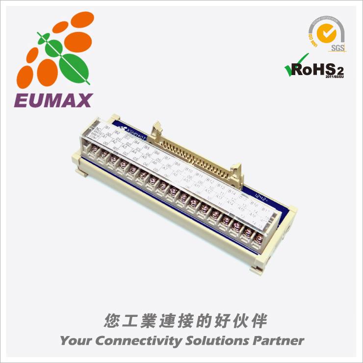 XSHM40T34-02-OMO 欧姆龙PLC输出转接模组 40P 欧巨转接模组